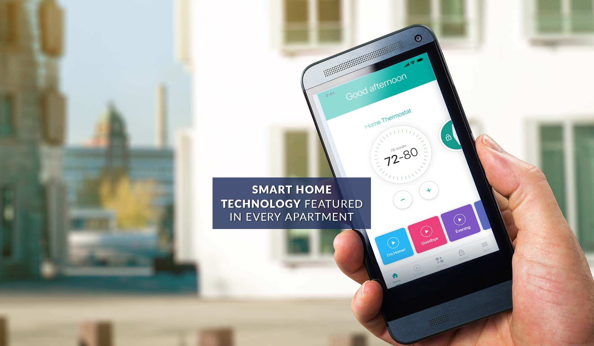 Riverloft Apartmetns - Philadelphia PA - smart home technology